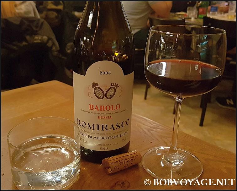 Aldo Conterno Barolo Romirasco 2004 ששתינו ב- קאלאטה 15 (Calata 15)