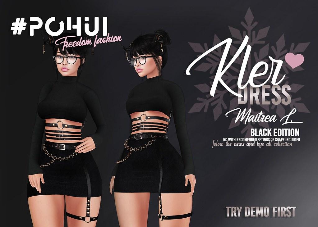 #POHUI – Kler Dress – BLACK EDITION