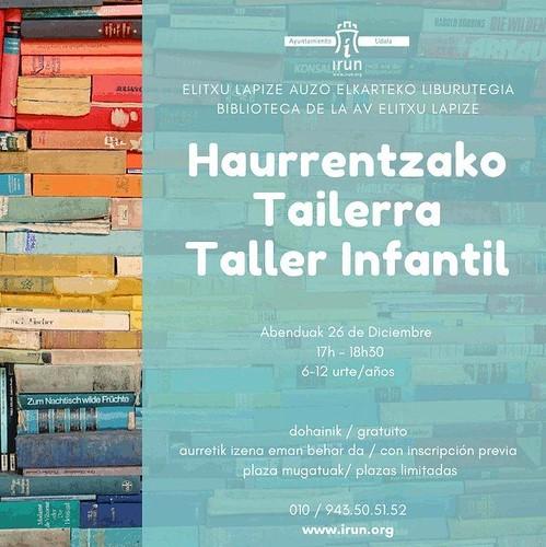 Haurrentzako Tailerra / Taller Infantil