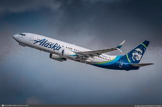 LAX.2019 | #Alaska.Airlines #AS #Boeing #B737-800 #N656AS | #AWP-CHR