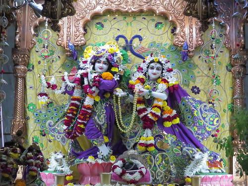 ISKCON Vallabh Vidyanagar Deity Darshan 19 Dec 2019