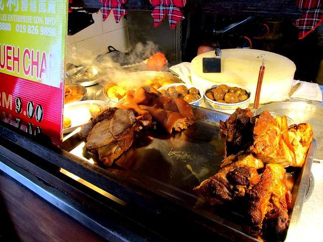 Lau Ya Keng kueh chap stall
