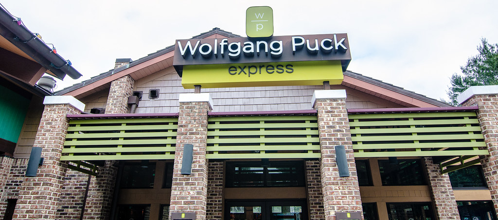 Wolfgang Puck Express outside