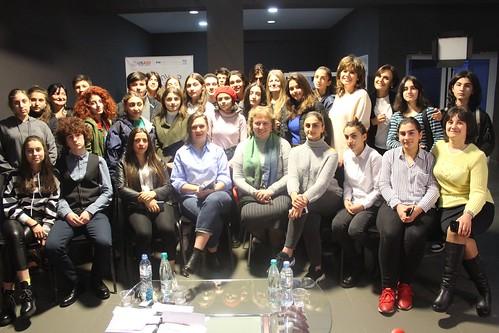 ონლაინ კონფერენცია კავკასიის საერთაშორისო უნივერსიტეტში / 19.12.2019 / Online Conference at Caucasus International University