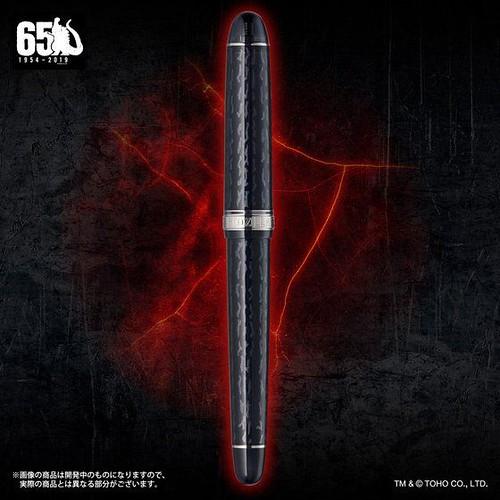 調出怪獸之王專屬配色!PLATINUM《哥吉拉》65週年紀念「哥吉拉萬年筆」特製墨水套組(ゴジラ 万年筆)