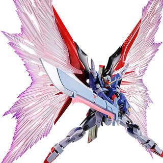 更具魄力的巨劍巨砲!METAL ROBOT魂《機動戰士鋼彈SEED DESTINY》命運鋼彈專用光之翼&特效組(デスティニーガンダム専用光の翼&エフェクトセット)