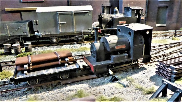 B A Cookes Engineering - 2 Gauges on 1 Layout.