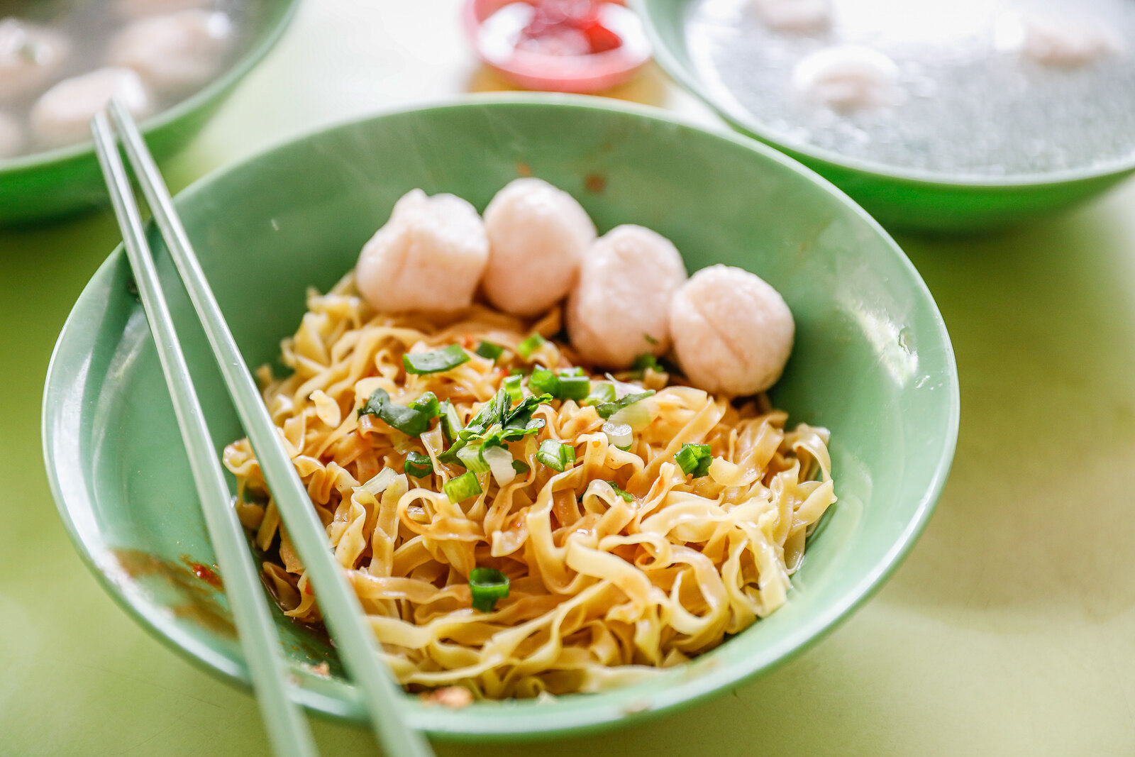 Albert Centre Market and Food Centre - hock lee fishball noodles mee pok