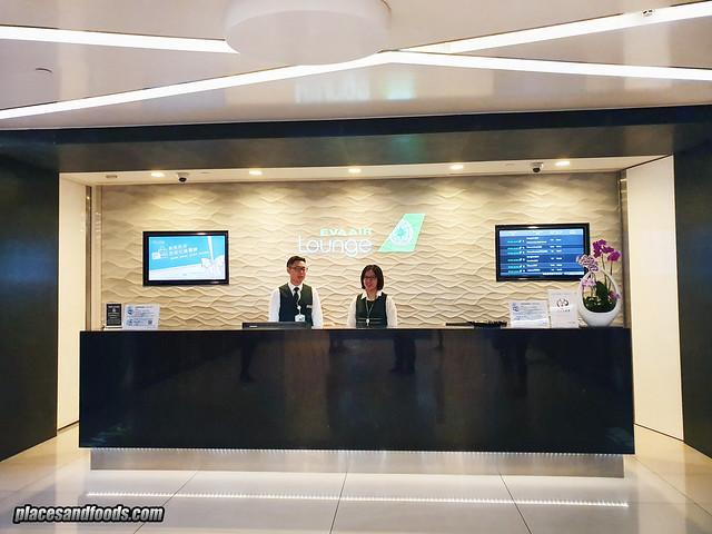 eva air infinity premium lounge entrance