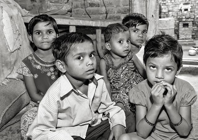 India 2010 revisited: village children