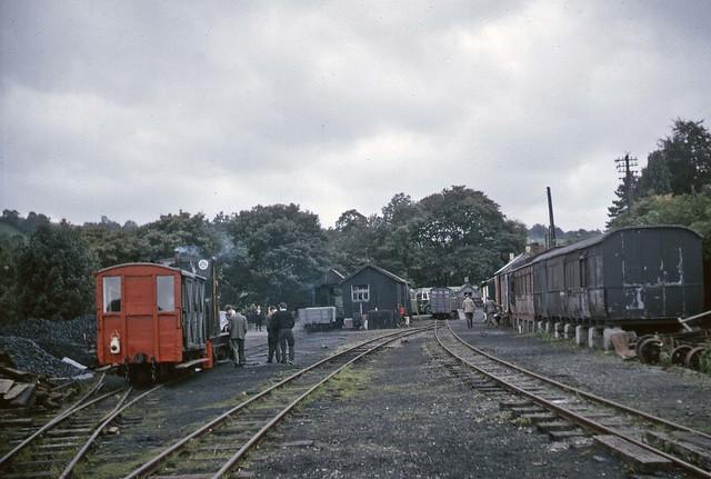 Llanfair Careinion yard