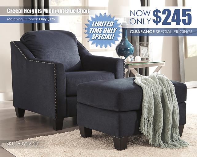 Creeal Midnight Blue Chair_80202-20-14