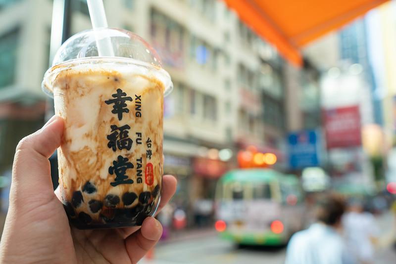 香港で飲む幸福堂