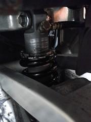 GSX-R1100W rear suspension
