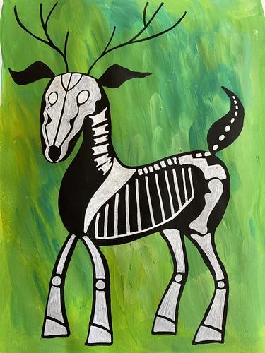 50 - Skeleton Deer