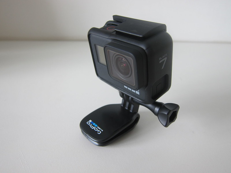 GoPro QuickClip - With GoPro HERO7 Black