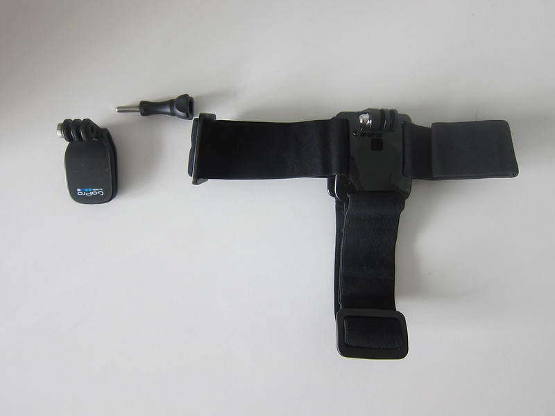 GoPro Head Strap + QuickClip - Box Contents