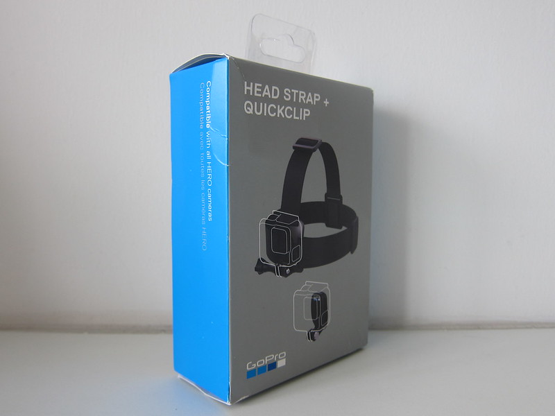 GoPro Head Strap + QuickClip - Box