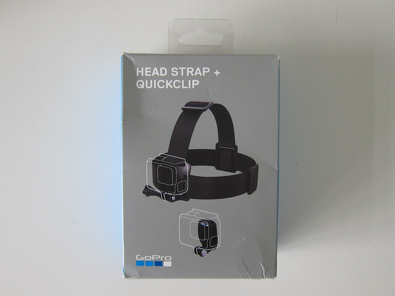 GoPro Head Strap + QuickClip - Box Front