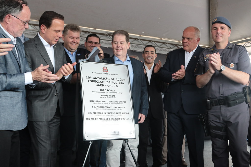Inauguração do BAEP em Piracicaba