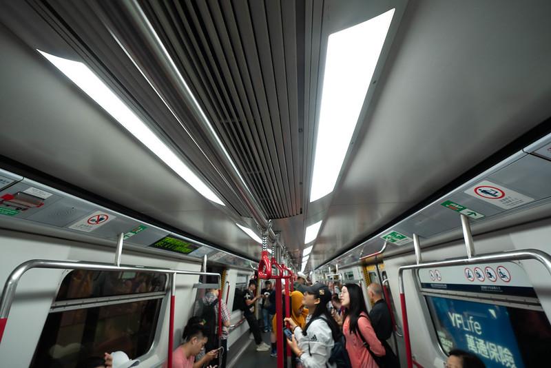香港の地下鉄