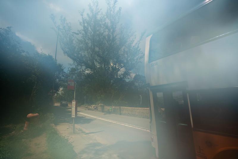 ドラゴンズバック バス停