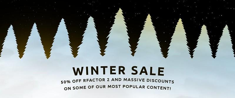 rF2 Winter Sale!
