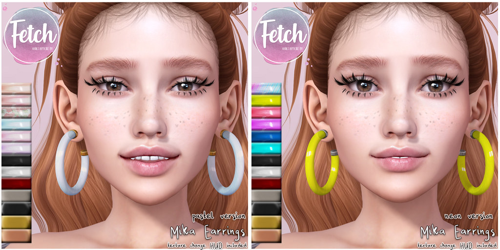 [Fetch] Mika Earrings @ Fifty Linden Friday