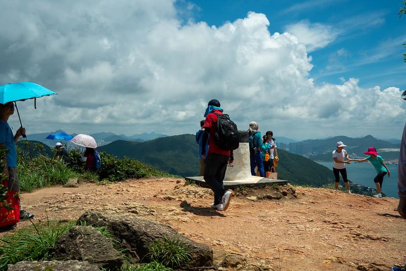 香港ドラゴンズバック 山頂