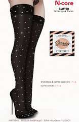 N-core Glitter Stockings&Shoes @ Saturday SALE (Coming soon)