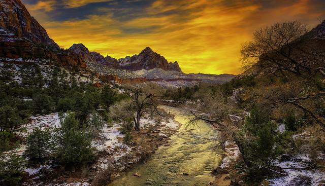 Sunset - Zion NP - 12-15-19-850_4686_17237