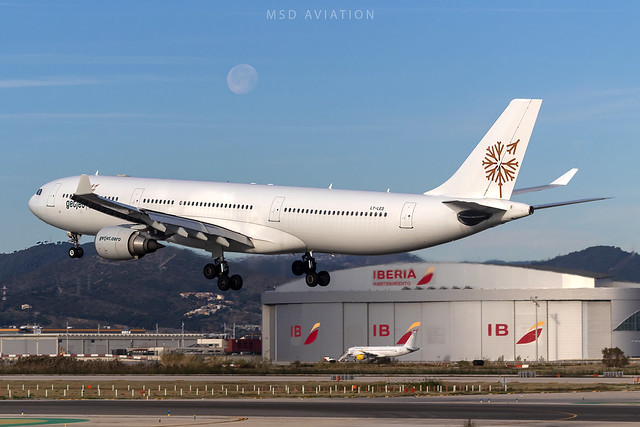 Airbus A330-302 LY-LEO Getjet