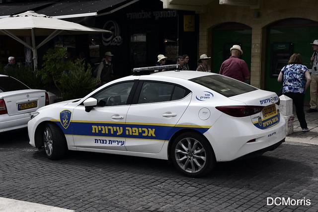 Municipal Enforcement Nazareth, Israel