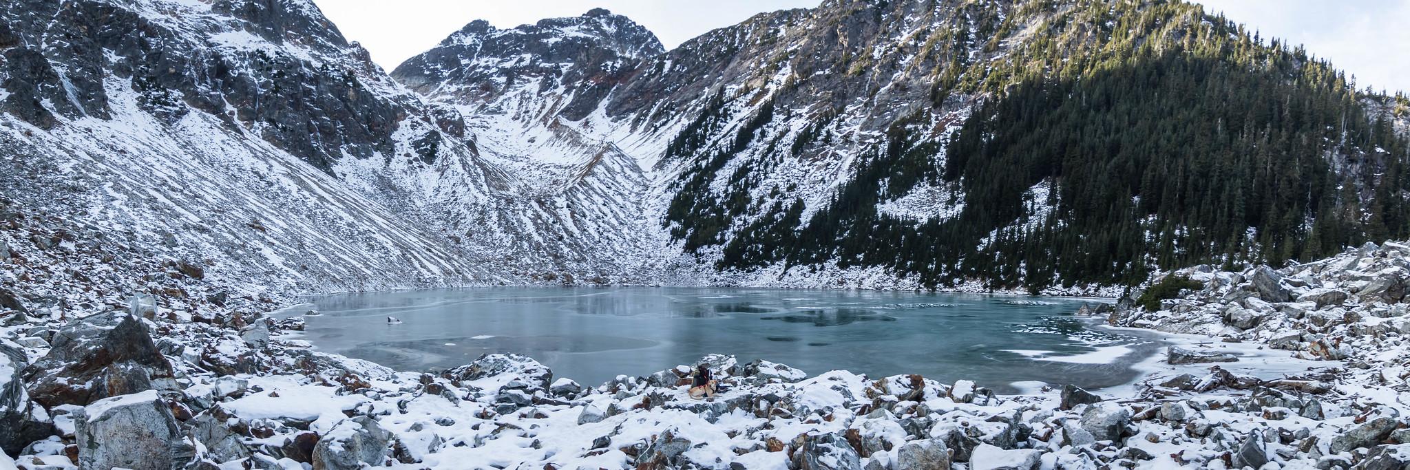 Lake Fork panoramic view