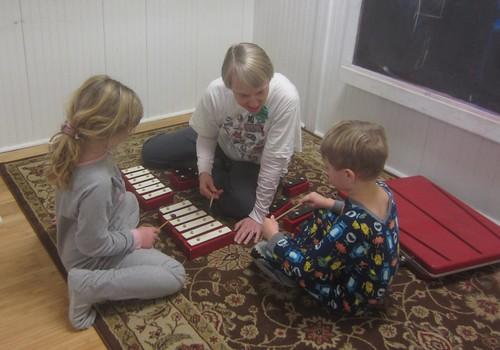 glockenspiel with Susan