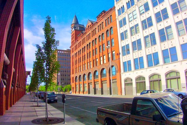 Review Building - Spokane - Washington ---