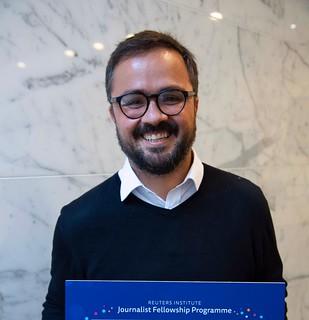 Jornalista Murillo Camarotto pesquisou a migração de repórteres de jornais para órgãos do governo em Pernambuco. (Divulgação)