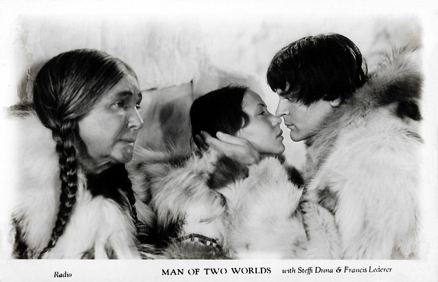 Steffi Duna and Francis Lederer in Man of Two Worlds (1934)