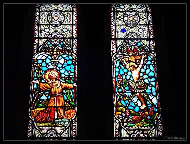 Vitraux de l'église du Sacré-Coeur de Bordeaux