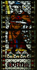 Sat, 08/16/2014 - 09:08 - 1325-39 stained glass depicting Abraham - St Ouen, Rouen France 16/08/2014