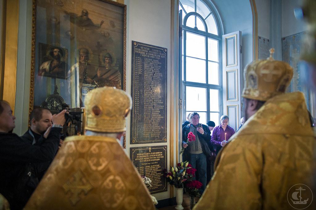 19 декабря 2019, Божественная литургия в Николо-Богоявленском морском соборе / 19 December 2019, Divine Liturgy in the St. Nicholas Naval Cathedral