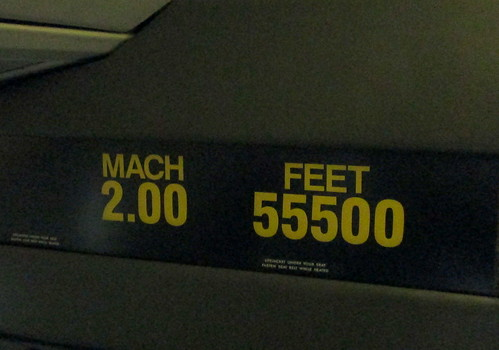 Concorde Mach and Height Indicators
