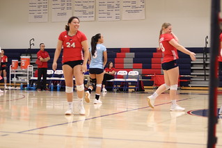 WHCC Volleyball vs Porterville: Student Perspective