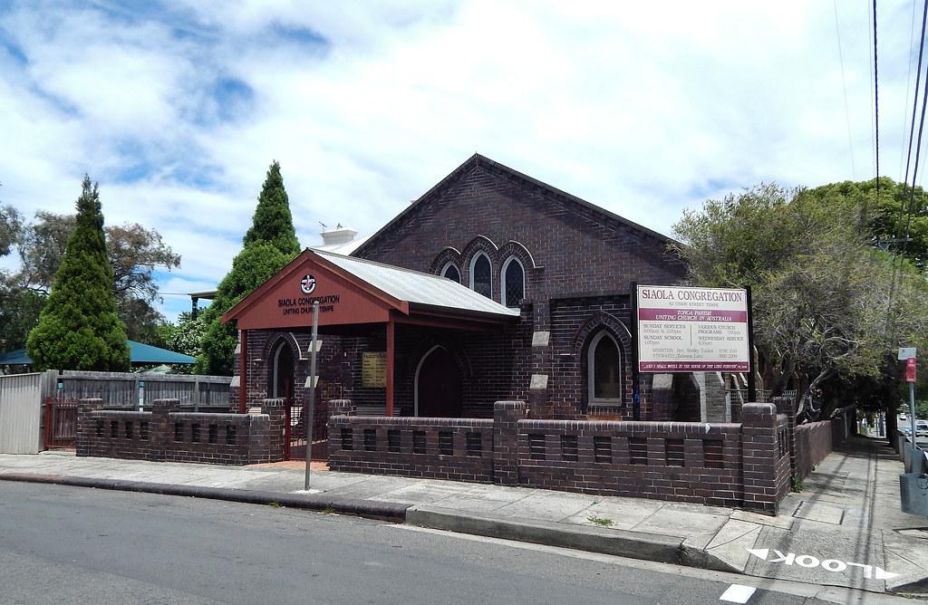 Sialo Congregation Church, Tempe, Sydney, NSW.