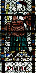 Sat, 08/16/2014 - 09:08 - 1325-39 stained glass depicting Isaac - St Ouen, Rouen France 16/08/2014