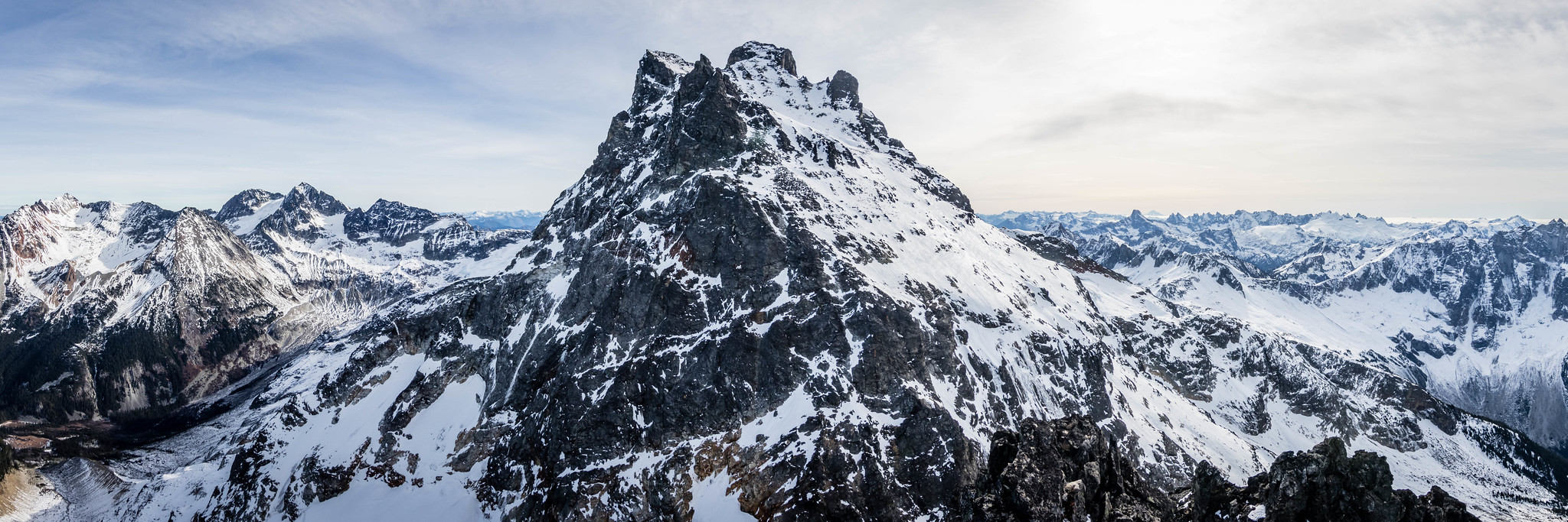Chilliwack group panoramic view
