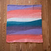 Colorful Wedges Baby Blanket