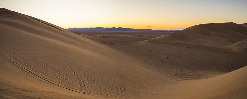 Dumont Dunes at Sunrise