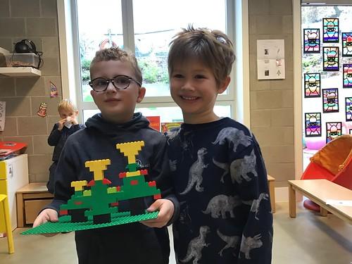 Derde Klkl Kerstboom Bouwen Met Lego