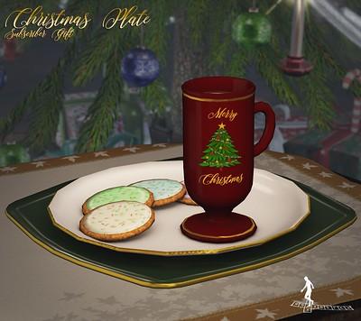 Christmas Plate Subscriber Gift